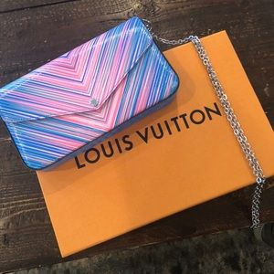 Louis Vuitton Epi Pochette Félicie Tropical bag